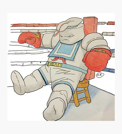 Stay Puft in the Ring Photographic Print