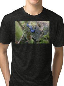 blue slug Tri-blend T-Shirt