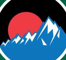LAKE CLARK NATIONAL PARK ALASKA MOUNTAINS HIKING CAMPING HIKE CAMP Sticker