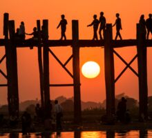 U Bein Bridge Sticker
