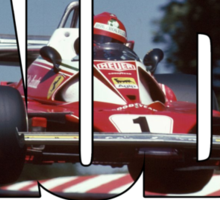 Niki Lauda - World Champion Sticker