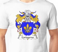 Cartagena Coat of Arms/Family Crest Unisex T-Shirt