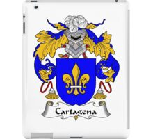 Cartagena Coat of Arms/Family Crest iPad Case/Skin