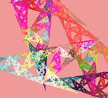 Triangle Fractal by CyanAlpaca