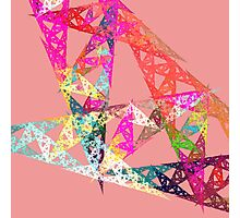 Triangle Fractal Photographic Print