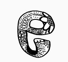 """Hipster Letter """"E"""" Zentangle Unisex T-Shirt"""