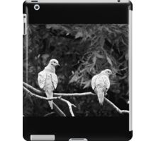 A PAIR OF TURTLE DOVES iPad Case/Skin