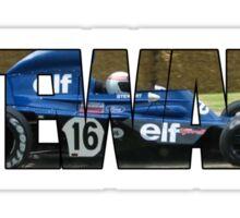 Jackie Stewart - World Champion Sticker