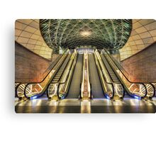 Triangeln Station. Canvas Print