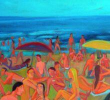 Playa Grande por Diego Manuel Sticker