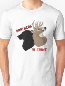 Partners in Crime Unisex T-Shirt