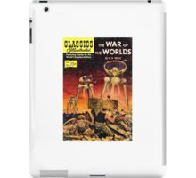 Illustrated Classics--War of the Worlds iPad Case/Skin