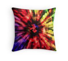 Spectrum Vortex. Throw Pillow
