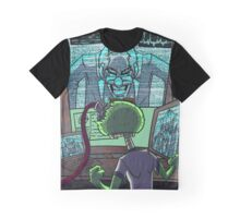Mad Scientist Trapping Zomboy Graphic T-Shirt
