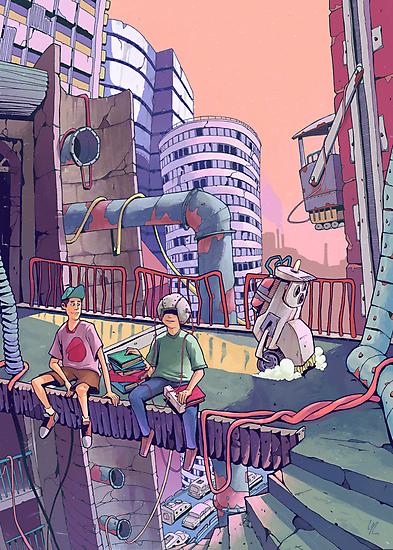 City by Yiannisun