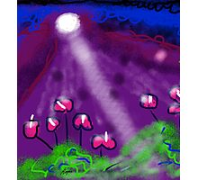 Flowers of the Night by Roger Pickar, Goofy America Photographic Print