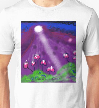 Flowers of the Night by Roger Pickar, Goofy America Unisex T-Shirt