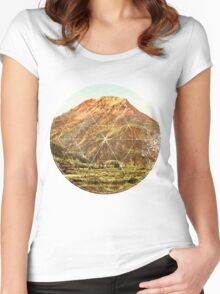 Circle Canyon  Women's Fitted Scoop T-Shirt