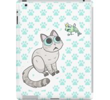 cat pattern iPad Case/Skin
