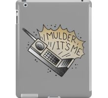 mulder it's me iPad Case/Skin