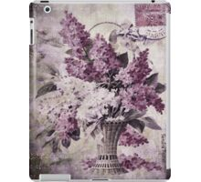 Lilacs Of Yesteryear iPad Case/Skin