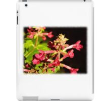 Pink Wild Flower iPad Case/Skin