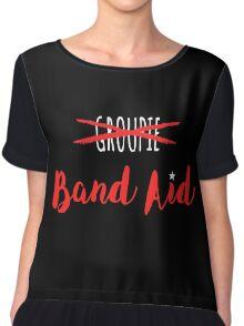 Band Aid Chiffon Top