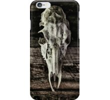 In the Woodshed iPhone Case/Skin