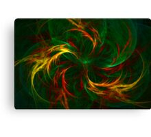 Fire Dragons Canvas Print