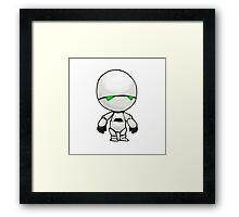 Freeze? I'm a robot. I'm not a refrigerator. Framed Print