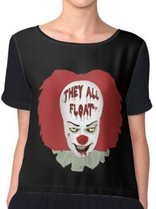 They All Float Chiffon Top