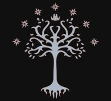 The Lord of the Rings-White Tree of Gondor by JustImagination