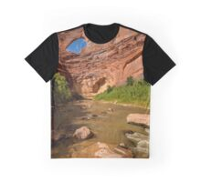 Stevens Arch - Escalante River - Grand Staircase - Utah Graphic T-Shirt