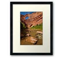 Stevens Arch - Escalante River - Grand Staircase - Utah Framed Print