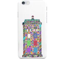 Colourful TARDIS iPhone Case/Skin