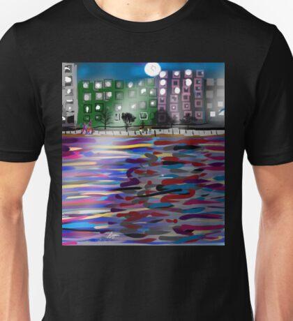 The East River by Roger Pickar, Goofy America Unisex T-Shirt
