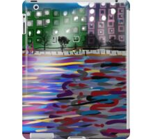The East River by Roger Pickar, Goofy America iPad Case/Skin