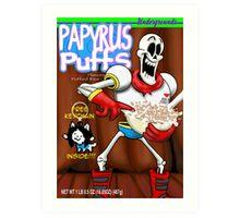 papyrus puffs Art Print