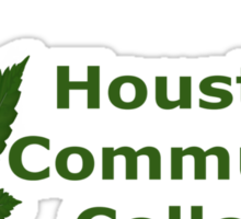 I Love Houston Community College Sticker