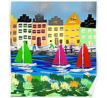 Copenhagen by Roger Pickar, Goofy America Poster