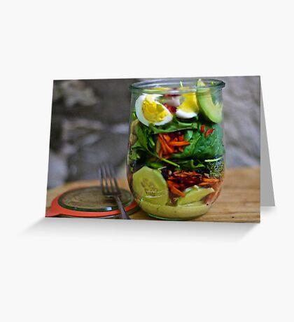 Layers of Love Salad Greeting Card