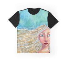 Bohemian Blue Graphic T-Shirt
