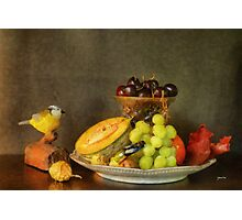 Fruit and Cricket Photographic Print