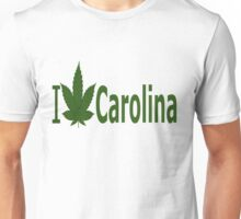 I Love Carolina Unisex T-Shirt