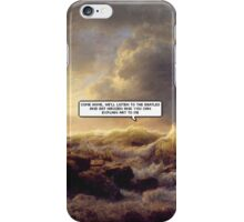you can explain art to me iPhone Case/Skin