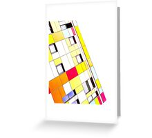 Tetris Tower Greeting Card