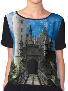 Lichtenstein Castle - Baden-wurttemberg - Germany Chiffon Top