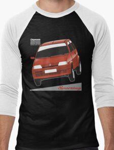 Fiat Cinquecento Sporting red Men's Baseball ¾ T-Shirt
