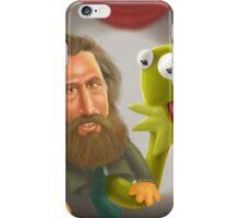 Jim Henson caricature iPhone Case/Skin