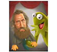 Jim Henson caricature Photographic Print